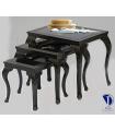میز عسلی چوبی مدل ثم آهویی