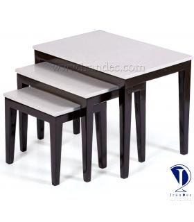 میز عسلی چوبی مدل پانیذ
