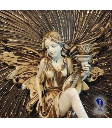 تابلو پلی استر طرح فرشته کوچک 1-تصویر دوم