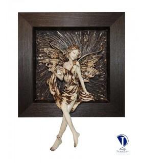 تابلو پلی استر طرح فرشته کوچک 2-تصویر اول