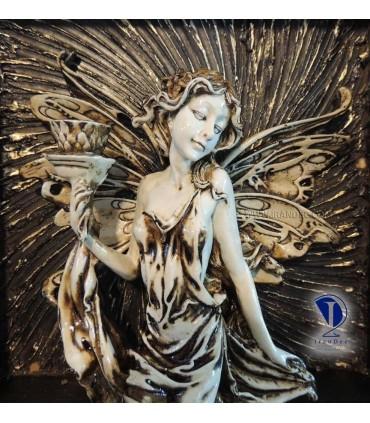 تابلو پلی استر طرح فرشته کوچک 2-تصویر دوم