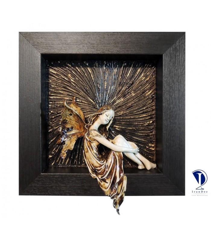 تابلو پلی استر طرح فرشته کوچک 3-تصویر اول