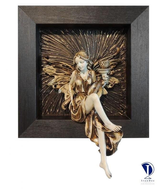 تابلو پلی استر طرح فرشته کوچک 1-تصویر اول