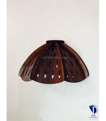 دیوارکوب چوبی شقایق کد D102