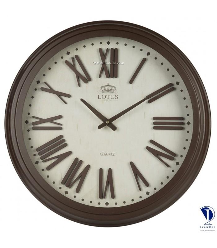ساعت دیواری مدرن لوتوس کد 16013