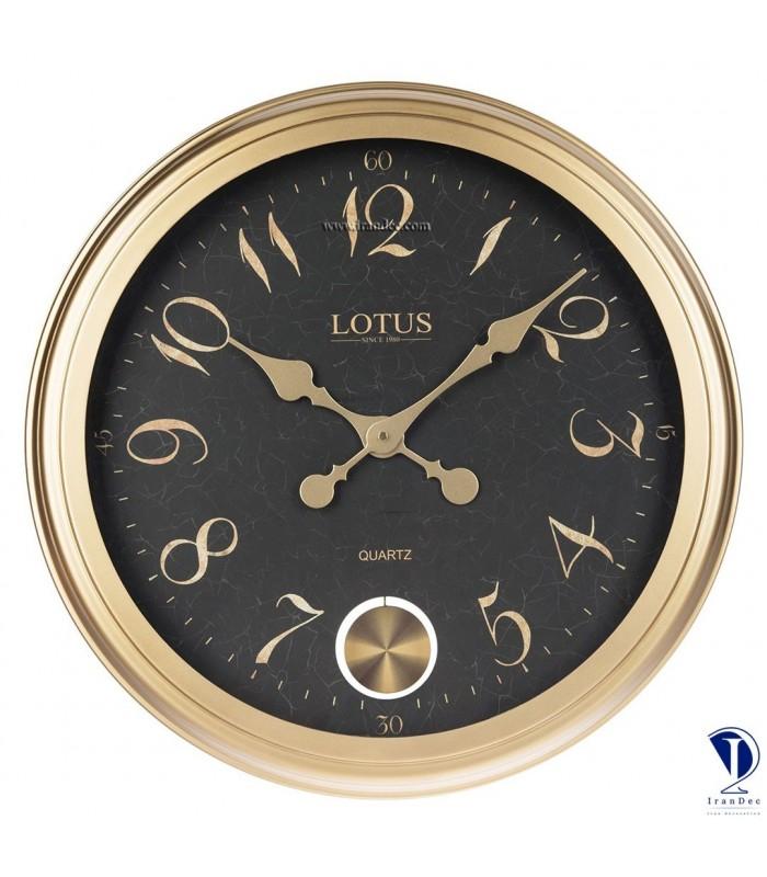 ساعت دیواری لوتوس کد 16002