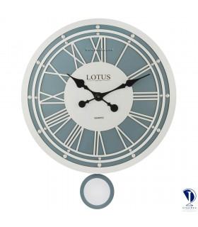 ساعت دیواری طرح آمریکایی لوتوس کد 3319