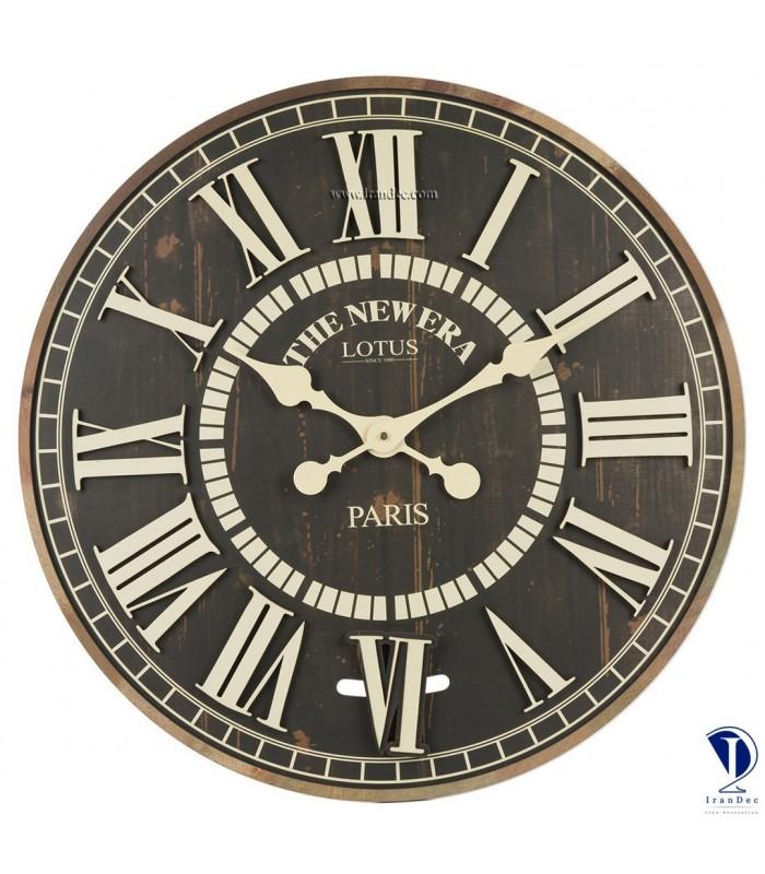 ساعت دیواری طرح آمریکایی Lotus کد 3330