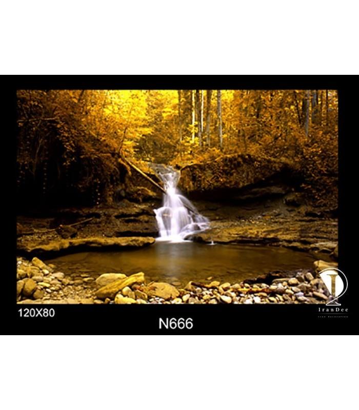 تابلو طرح برکه آب کد N666