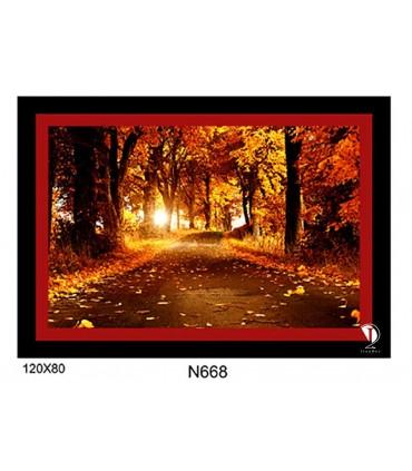 تابلو طرح جنگل کد N668