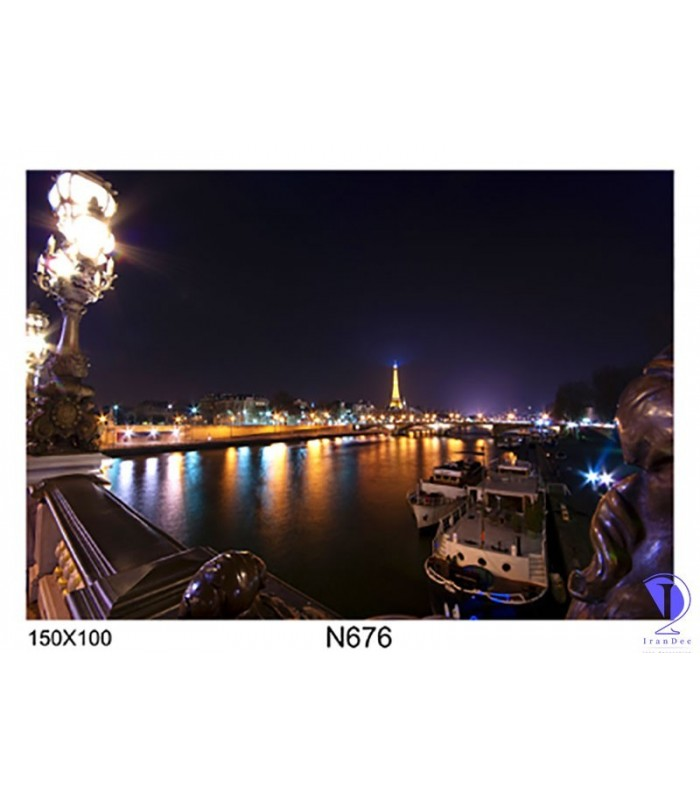 تابلو طرح پاریس کد N676
