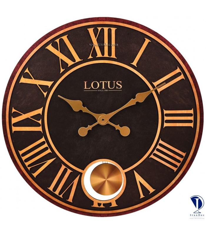 ساعت دیواری مدرن آمریکایی لوتوس کد 3311
