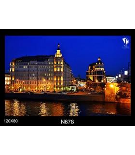 تابلو طرح سنت پترزبورگ کد N678