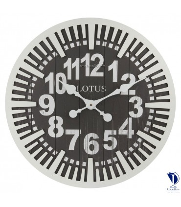 ساعت دیواری آمریکایی مدرن لوتوس کد 3316