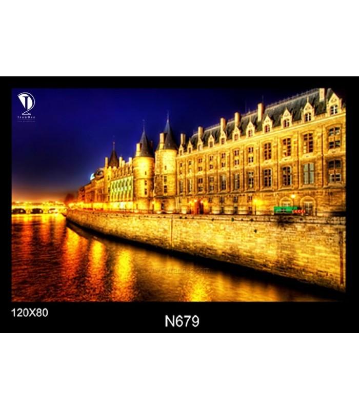 تابلو طرح شب پاریس کد N679