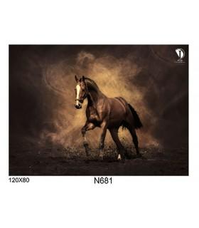 تابلو طرح اسب کد N681