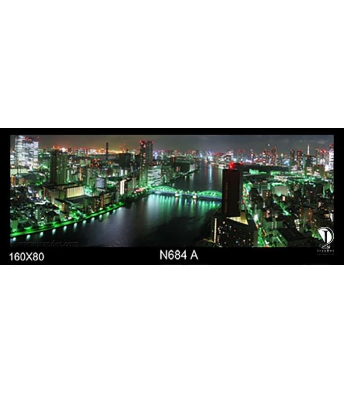 تابلو طرح شب توکیو کد N684-A