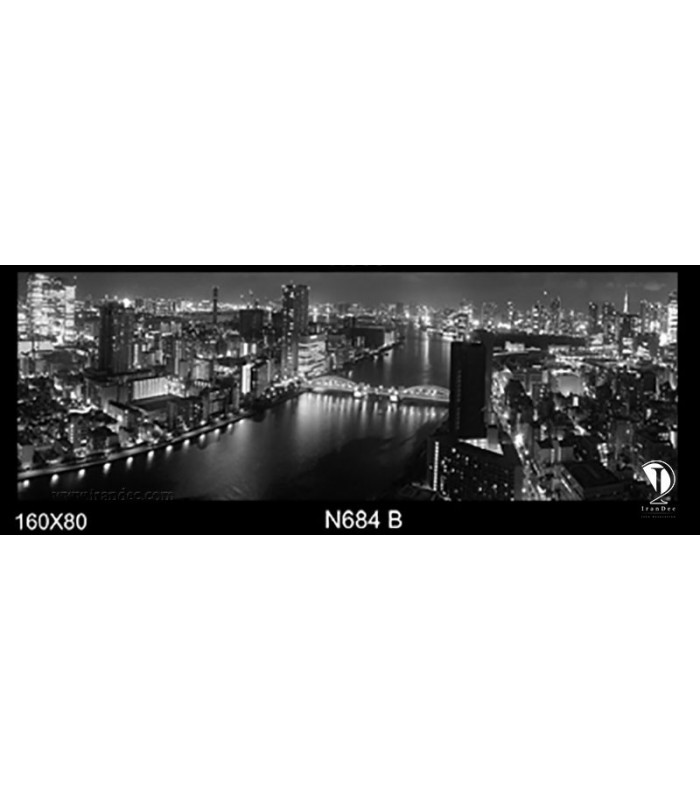 تابلو طرح شب توکیو کد N684-B