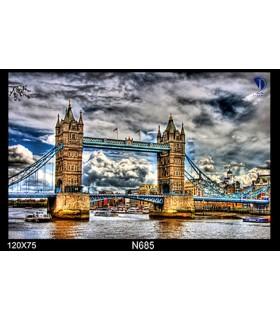 تابلو طرح تاور بریج لندن کد N685