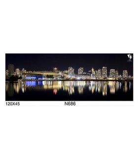 تابلو طرح شب شهر کد N686