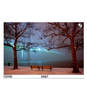 تابلو طرح آرامش بخش کد N687