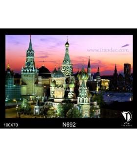 تابلو طرح مسکو کد N692