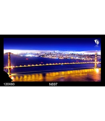تابلو طرح پل گلدن گیت سانفرانسیسکو کد N697