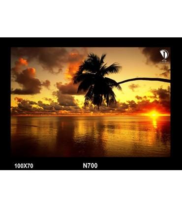 تابلو طرح غروب آفتاب کد N700