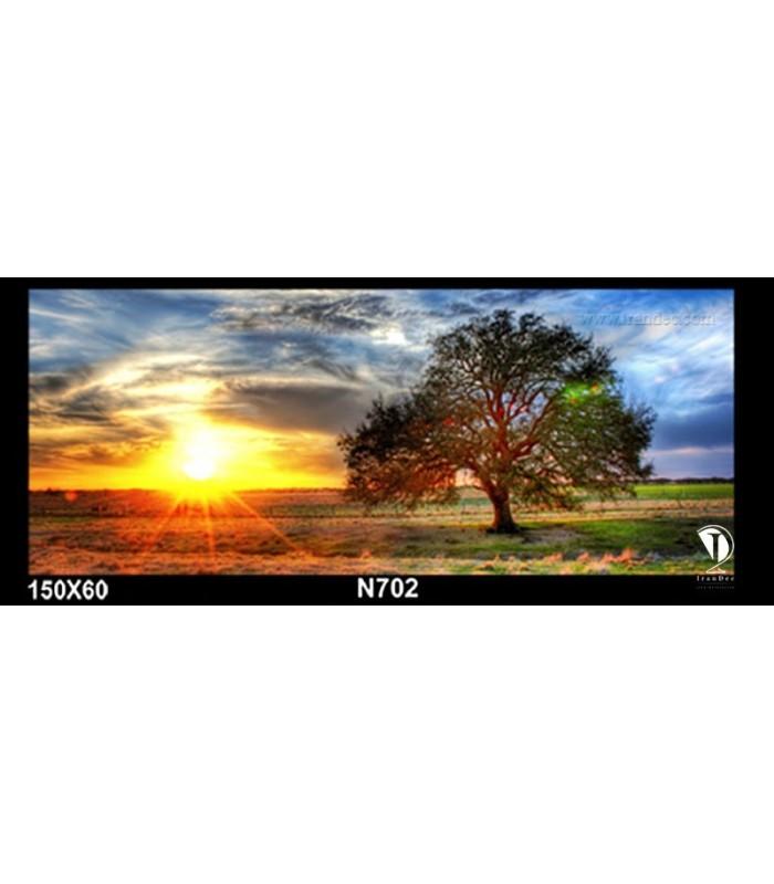 تابلو طرح غروب آفتاب کد N702