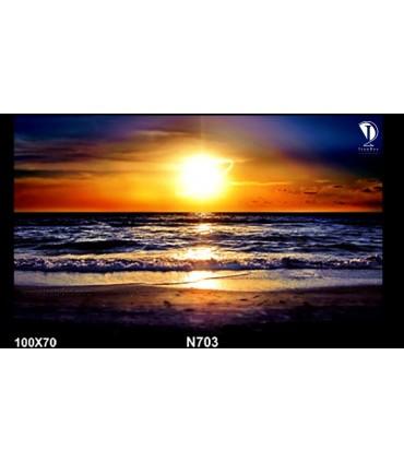 تابلو طرح غروب آفتاب کد N703