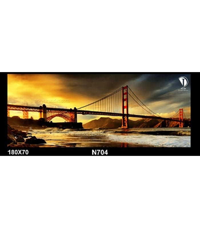 تابلو طرح پل سانفرانسیسکو کد N704