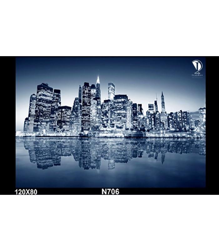 تابلو طرح خط افق نیویورک کد N706