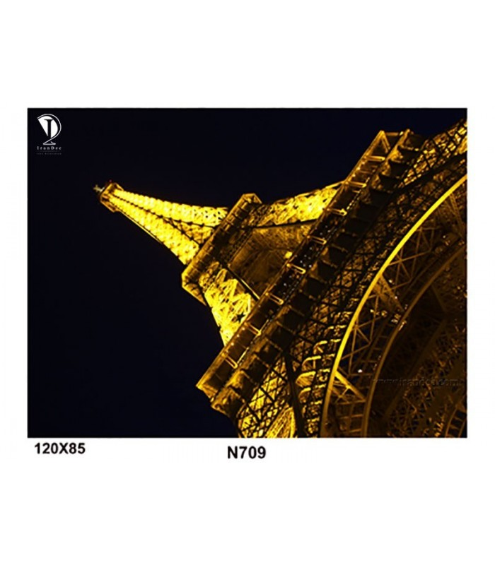 تابلو طرح برج ایفل کد N709