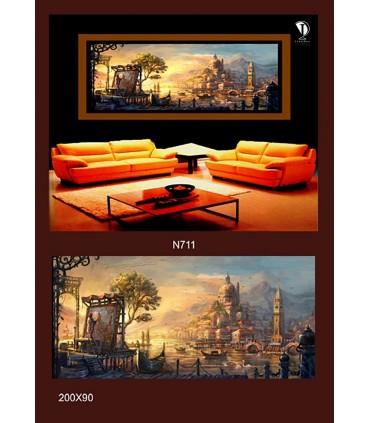 تابلو طرح نقاشی کد N711