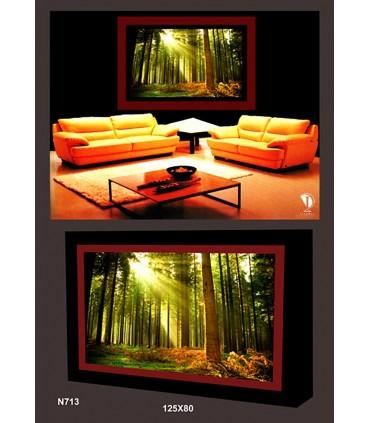 تابلو طرح جنگل کد N713