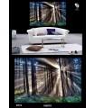 تابلو طرح جنگل کد N715