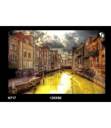 تابلو طرح شهر آمستردام هلند کد N717