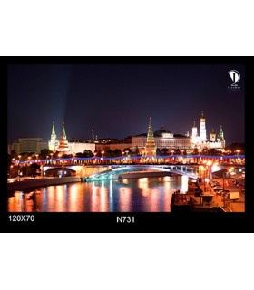 تابلو طرح شب مسکو کد N731