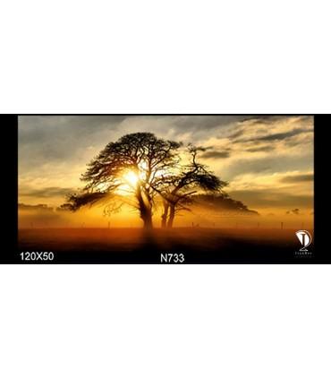 تابلو طرح غروب آفتاب کد N733