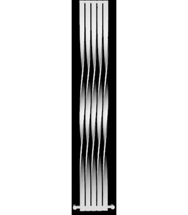 رادیاتور دکوراتیو استیل مدل آلامر پیچی 180سانتی متری