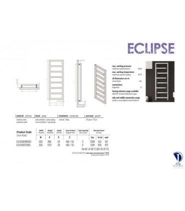 رادیاتور استیل مدل ECLIPSE