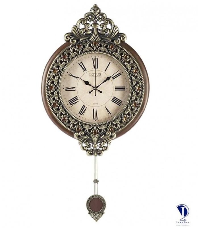 ساعت دیواری لوتوس کد kw902