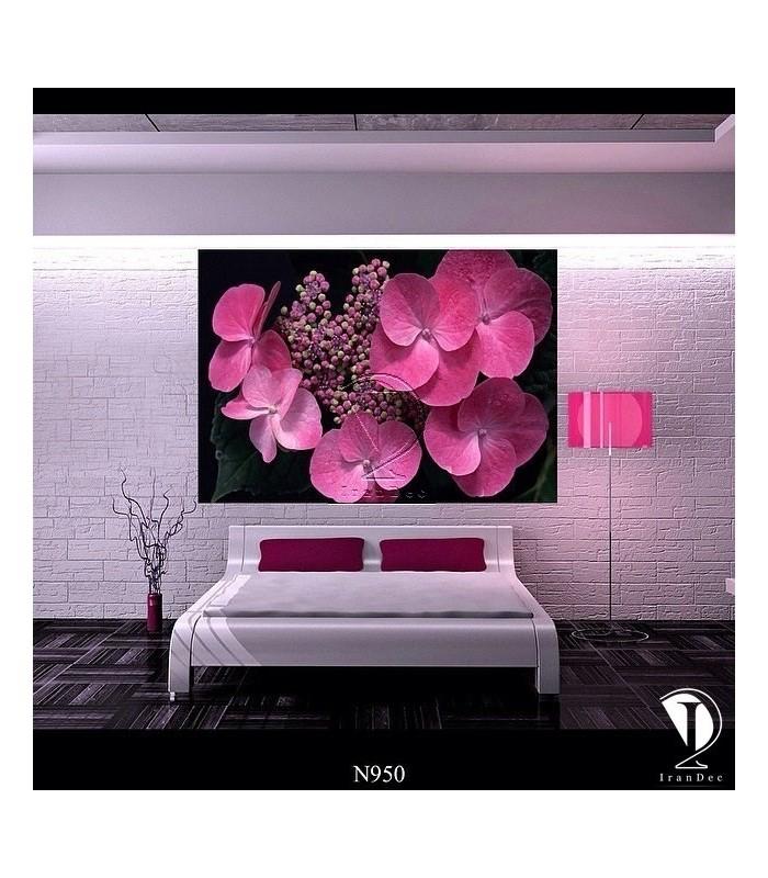 تابلو طرح گل کد N950
