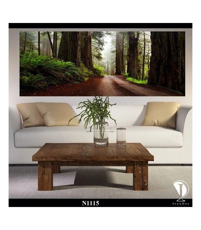 تابلو طرح جنگل کد N1115