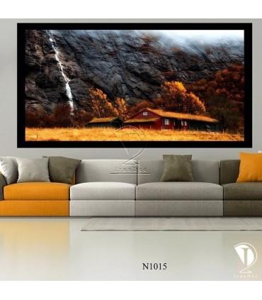 تابلو طرح طبیعت کد N1015
