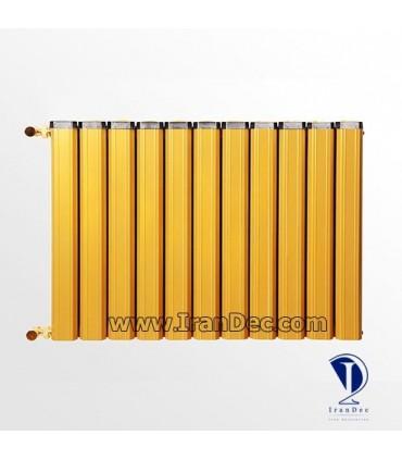 رادیاتور طلایی رنگ
