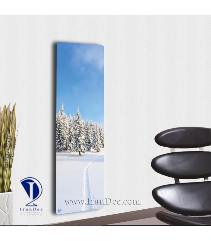 رادیاتور شیشه ای مدرن
