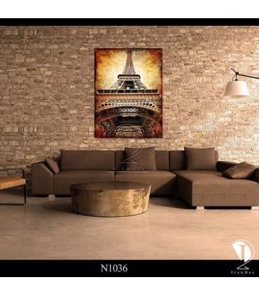 تابلو طرح برج ایفل کد N1036
