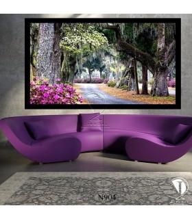 تابلو طرح جنگل زیبا کد N904