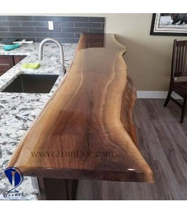 صفحه چوبی ویژه اپن آشپزخانه و کافی شاپ ها